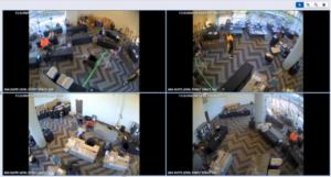 video segments showing election irregularities